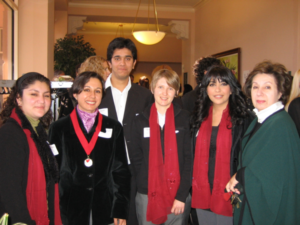 VFJ committee with Dr. Angha