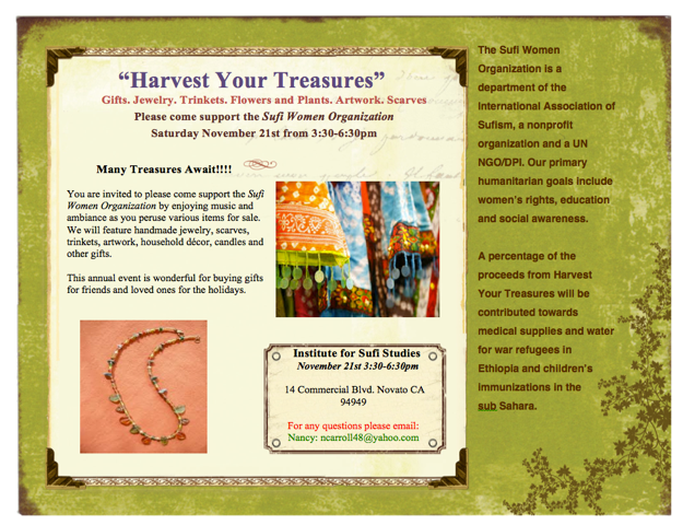 SWO Harvest your Treasures 2015